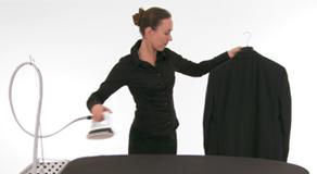 Laurastar Système - Comment défroisser à la verticale ?