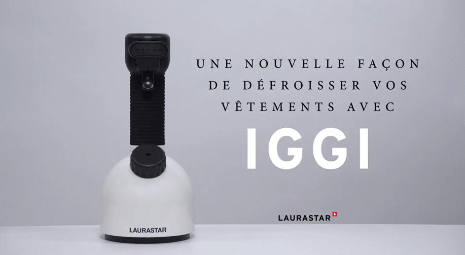 Comment défroisser vos vêtements avec IGGI ?